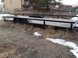 20 ft. Flatbed Trailer for Sale in Parker, CO
