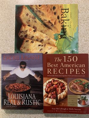 Cookbooks - Baking, Emeril, etc. for Sale in Raleigh, NC