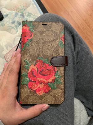 iPhone XS MAX COACH WALLET for Sale in Silver Spring, MD