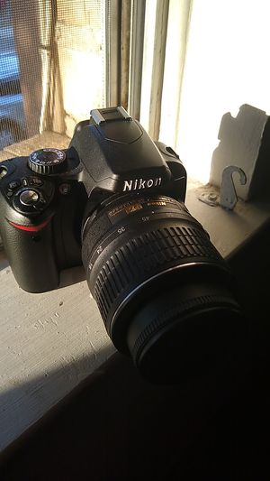 Nikon d60 series digital camera for Sale in San Antonio, TX
