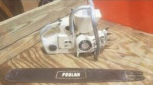 Pollan 65 chainsaw collector saw rare only made for 2years Runs great for Sale in Granite Falls, WA