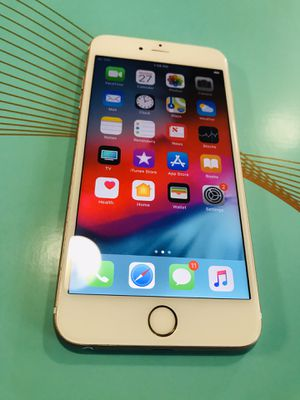 Unlocked iPhone 6S plus rose gold for Sale in Buda, TX