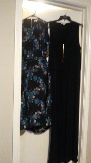Eva mendez floral spring dress and Michael Kors blue jumpsuit for Sale in Fort Worth, TX