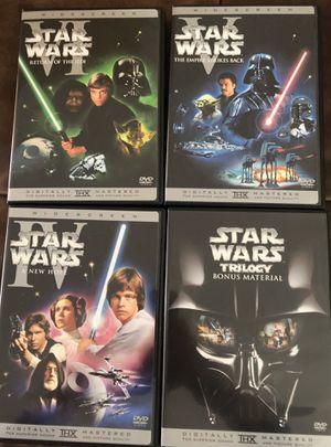 Star Wars Trilogy + Bonus material - DVD box set for Sale in Milwaukie, OR
