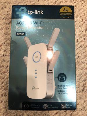TP Link AC2600 WiFi range extender, RE650 for Sale in Windsor Locks, CT
