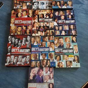 Grey's Anatomy 1-10 DVD Season Set for Sale in Randolph, WI