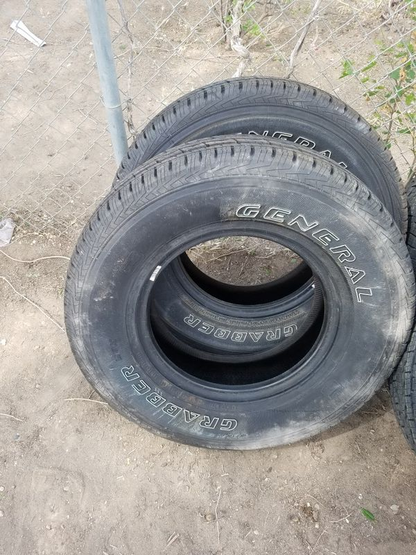 New genral tire 245/75/r16