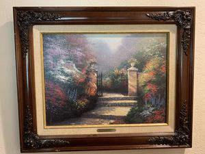 Thomas Kinkade Victorian Garden Classics Collection with COA for Sale in Santa Clarita, CA
