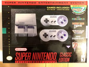Super Nintendo Mini Classic Edition for Sale in Philadelphia, PA