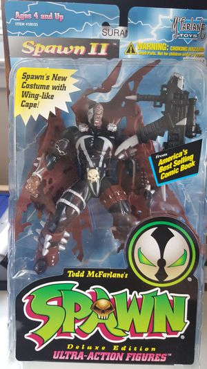 1995 Spawn Deluxe Edition Ultra-Action Figure Spawn II for Sale in Dale City, VA