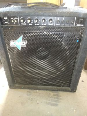 KMD GS200B Bass guitar amplifier 200w 1x15 for Sale in Albuquerque, NM