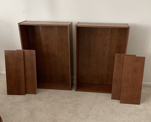 Two Bookshelves with Two shelves $30 OBO for Sale in Auburn, WA