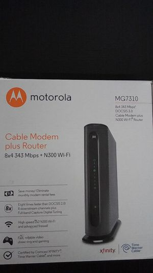 Motorola MG7310 Router for Sale in Portland, OR
