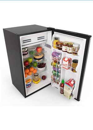 hOmeLabs Mini Fridge - 3.3 cu ft Under Counter Refrigerator with Covered Chiller Compartment for Sale in Lansdowne, VA