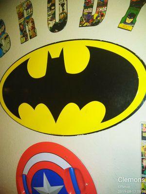 BatMan logo metal sign art for Sale in Nashville, TN