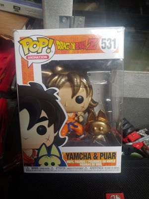 Custom yamcha and puar Funko pop for Sale in Seattle, WA