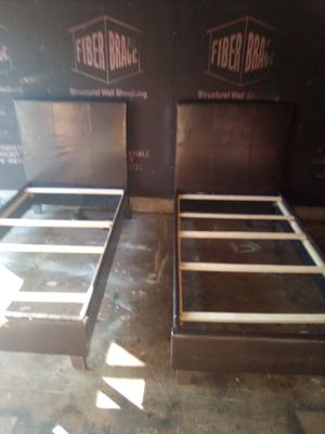 Twin leather bed frames for Sale in Memphis, TN