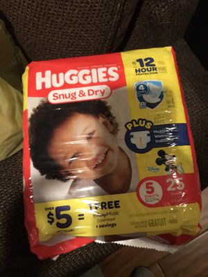 Huggies diapers for Sale in Philadelphia, PA