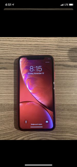 iPhone XR red special edition for Sale in Stockton, CA
