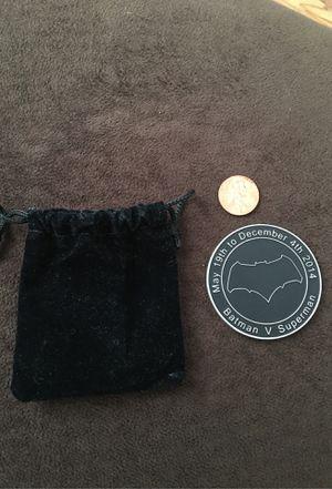 Batman v Superman movie challenge coin (CREW SWAG) for Sale in Alhambra, CA