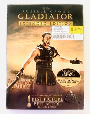 Gladiator Extended Edition (2005 DVD, 3-Disc Box Set) Brand New Sealed! for Sale in Orlando, FL