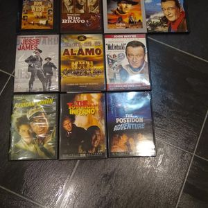 Dvds Western And Adventure Classic Movies for Sale in Trenton, NJ