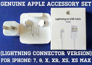 Genuine Apple Accessory Set (Lightning connector version) for Sale in Falls Church, VA