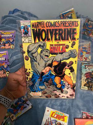 Comic book Hulk vs Wolverine for Sale in Long Beach, CA