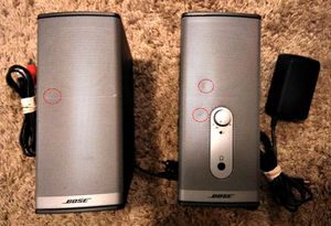 Bose companion 2 series ii multimedia speaker system for Sale in St. Louis, MO
