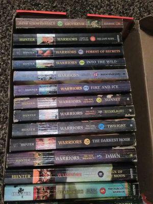 Set of books worriors for Sale in Saint Joseph, MO