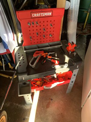 Kids Craftsman tool chest for Sale in Long Beach, CA