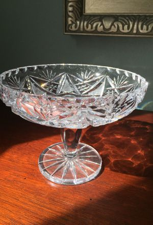 Antique cut glass compote for Sale in Huntington Beach, CA