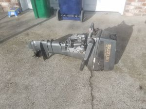15 HP Suzuki long shaft outboard for Sale in Enumclaw, WA
