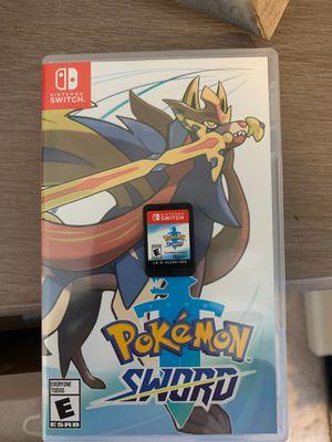 Pokémon sword for Nintendo switch for Sale in Glen Raven, NC