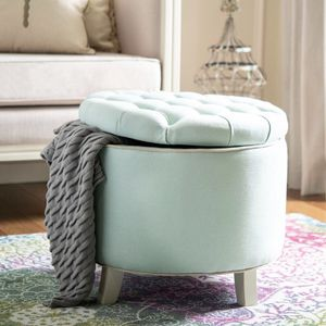 Beautiful ottoman with storage ! New condition and details on picture for Sale in Vancouver, WA