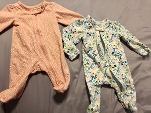 Newborn Carter's footed pjs for Sale in Chandler, AZ