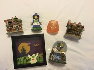 HALLOWEEN DECORATIONS SET OF 6 - PICK UP ONLY COVINA for Sale in Covina, CA