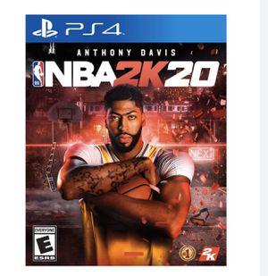 NBA 2k20 with GameStop insurance for Sale in Pleasanton, CA