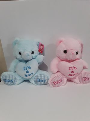 "Brand New 8"" Baby Teddy Bear Stuffed Animal Plush Toy Baby Shower Gift Boys Girls for Sale in Hacienda Heights, CA"