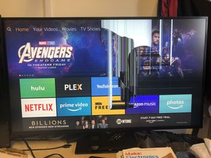 """LG 43UD79B 43"""" 4k monitor CRACKED SCREEN for Sale in Somerville, MA"""