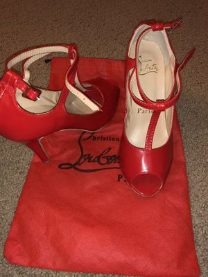 Christian Louboutin red heels for Sale in San Marcos, CA