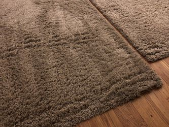 4x6 Light Gray Shag Area Rug (2) for Sale in Beverly Hills,  CA