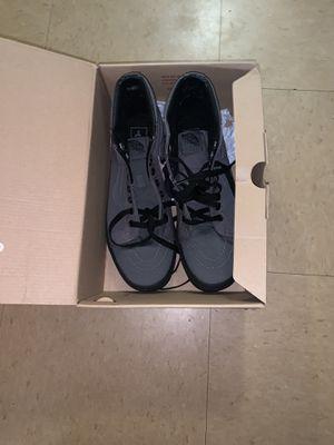Black and grey vans 8.5 men and 10 women brand new in box for Sale in Coronado, CA