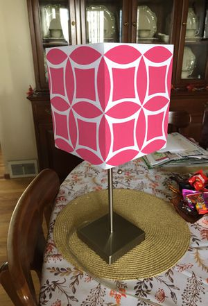 Pink shade lamp for Sale in Swissvale, PA