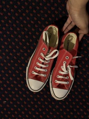 Red converse for Sale in Ewing Township, NJ