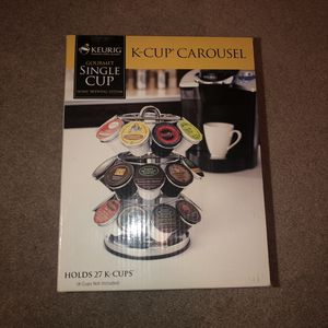 Keurig K-Cup Carousel-Holds 27 Cups for Sale in North Las Vegas, NV