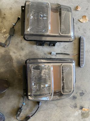 2008 ford f350 and f250 smoke headlights , third light and conversion kit for Sale in Fairfield, CA
