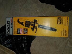 DeWALT 16-Inch FLEXVOLT Cordless Chainsaw for Sale in Burlington, NJ