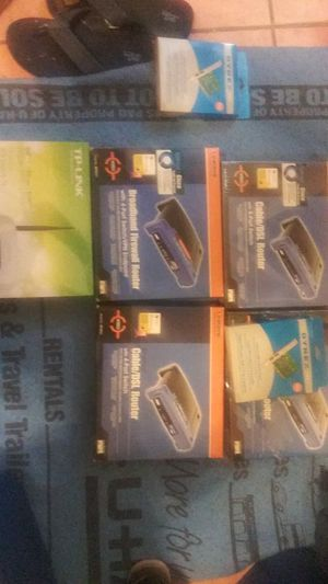 Linksys computer routers / USB 2.0 pci cards for Sale in McAllen, TX