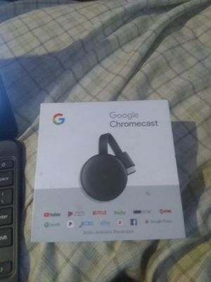 Google Chromecast smart device for Sale in Huntington, IN
